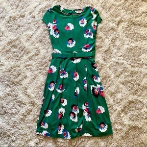 NWOT! Beautiful floral belted BODEN dress, size 4R